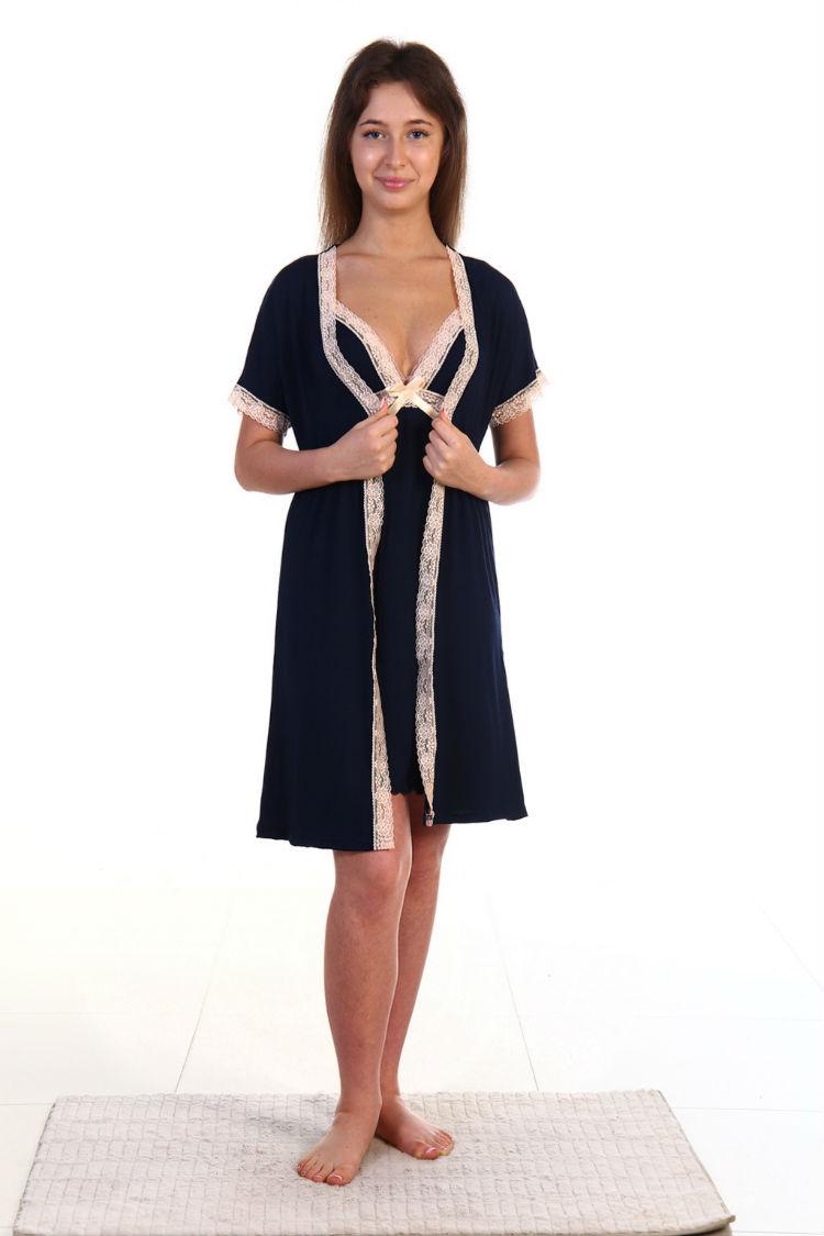 Женская одежда и нижнее белье оптом и в розницу - Лилия Модель 025 синий